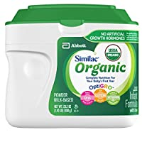 Similac 雅培 Organic 嬰兒含鐵配方奶粉 1 段 0-12個月 6罐裝 658g*6