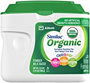 Similac 雅培 Organic 婴儿含铁配方奶粉 1 段 0-12个月 6罐装 658g*6