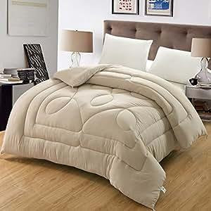 帕兰帝 素色水洗棉双人被芯时尚纯色加厚被子保暖冬被 白色-XY水洗棉冬被 200×230 4斤