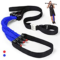 Odoland 拉力辅助带,引体阻力带,优质举重辅助带系统改善手臂、肩膀和胸部强度