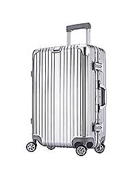 CC&KK 高品质时尚 铝框箱 旅行箱 26寸行李箱 29寸托运箱 拉杆箱24寸万向轮 登机箱20寸