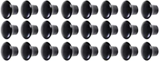 Saim 木制橱柜旋钮未抛光圆蘑菇形状木制抽屉旋钮拉手衣柜梳妆台门把家具五金带钢螺钉 G1YSWJJ013566#LJY