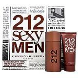 Carolina Herrera 212 Sexy Men Gift Set for Men (Packaging May Vary)
