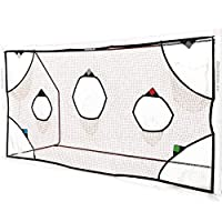 QuickPlay PRO 足球目标球网 7 分数区 - 练习射击和球门鞋