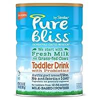 Similac 雅培 Pure Bliss 婴幼儿奶粉 源自草饲奶牛的鲜奶 0-12个月 31.8盎司(900g) 4罐装