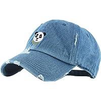 KBETHOS 熊猫老爸帽子棒球帽 Polo 风格可调节