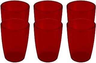Coza Design 2020202/3111 耐用塑料杯,均码,红色