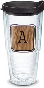 Tervis 海岸警卫队不锈钢保温杯,带蓝*盖 透明 24 oz 1315375