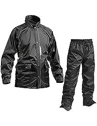 麦克 耐久防水防雨衣 七分尖点 AS-5800 黑色 LL AS-5800
