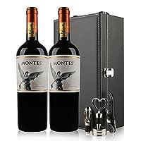 Montes 蒙特斯 经典玛尔贝 干红葡萄酒 大瓶 原瓶进口红酒 红酒礼盒750ml