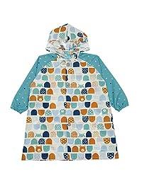 库卡希普 儿童用 带反射标识 带书包的雨衣 おやまとクマ/グリーン 120cm 84055