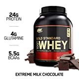 Optimum Nutrition 欧普特蒙 金牌乳清蛋白营养粉巧克力味,1瓶装 2.3 kg