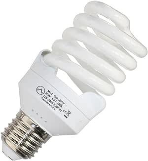 Avalva 0435/20/F,20 W E27 玻璃节能灯泡,白色