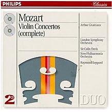 进口CD:莫扎特小提琴协奏曲Mozart Violin Concertos(4383232)
