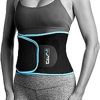 EzyFit 腰部修剪器优质*腹带适合男女锻炼。 Sweat Enhancer 可调节*燃烧器腹部包装。 Sweet 腹部肌肉和背部支撑加附赠网袋