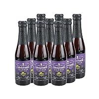 林德曼 比利时进口水果啤酒 Lindemans林德曼黑加仑啤酒250ml x 12组合