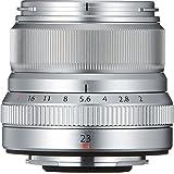 Fujifilm FUJINON XF23 毫米 F2 R WR 广角镜头X Series 23mm 银色镜片 f/2 银色