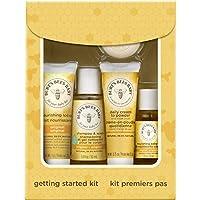 Burt's Bees Baby Getting Started禮盒套裝,5個試用裝嬰兒護膚品 - 乳液,洗發沐浴露,日霜,嬰兒油和肥皂