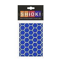 Hirzl 中性款 – 成人 Shiok。 相框贴纸蜂窝(Azure)DIN A6 (14.8 x 10.5 cm)