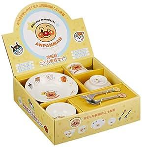 金正陶器 面包超人 儿童餐具礼盒 M 074740