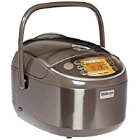 Zojirushi NP-NVC18 Induction Heating Pressure Cooker and Warmer, 10 Cups, Stainless Brown