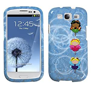 MYBAT SAMSIIIHPCIM965NP Compact and Durable Protective Cover for Samsung Galaxy S3-1 Pack - Retail Packaging - Fairy Ballerinas
