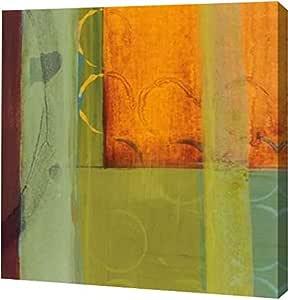 "PrintArt GW-POD-29-BLP246-20x20 ""万花筒旋转 I""由 Leslie Bernsen 创作画廊装裱艺术微喷油画艺术印刷品 16"" x 16"" GW-POD-29-BLP246-16x16"