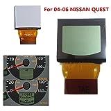 全新 LCD 显示屏适用于日产 Quest 速度计仪器组 2004 2005 2006