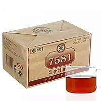 中粮中茶 云南普洱 7581普洱茶砖 精装 250g*4片