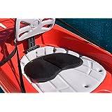 通用坐垫适合皮艇 Canoe 排龙船户外机,带凝胶舒适垫。划桨鞍座,美国制造
