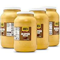 Aubrey D. Jalapeno Mustard Food Service, Spicy for Restaurants, Discounted Bulk and Wholesale