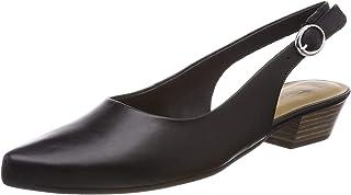 TAMARIS 女 低跟鞋 1-1-29400-20 003 黑色皮革 36