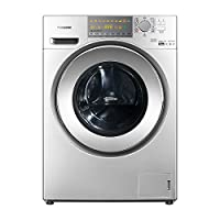 Panasonic 松下 9kg全自动大容量罗密欧除螨带烘干,滚筒洗衣机XQG90-EG925(亚马逊自营商品, 由供应商配送)
