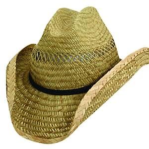 dorfman pacific co inc tmms58os Men -Feets, Western Shape Summer Straw Hat Assortment