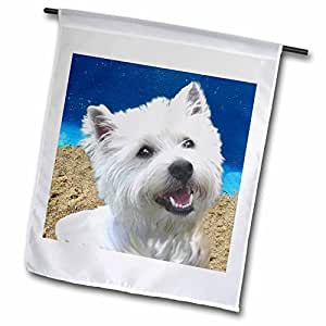 Dogs West Highland Terrier - 西高地梗犬 - 旗帜 12 x 18 inch Garden Flag fl_4436_1
