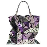 Bao Bao By Issey Miyake Women's Lucent Metallic Tote Purple