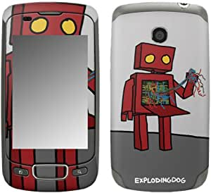 MusicSkins, MS-EXDG20248, EXPLODINGDOG - I Hate Technology, LG Optimus T (P509), Skin