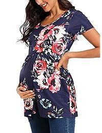 Jezero 女式孕妇护理连帽长袖运动衫*喂养上衣休闲服