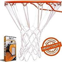 BETTERLINE 重型篮球网替换件 - 全天候厚网适合标准室内外12圈圈