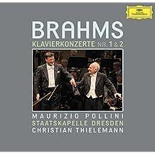 进口CD:布拉姆斯:第一/二号钢琴协奏曲/波里尼/提勒曼 Brahms:The Piano Concertos/Pollini/Thielemann(2CD)4793985
