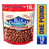 Blue Diamond 蓝钻石 烟熏风味扁桃仁454g-礼袋款(美国进口)(美国进口)