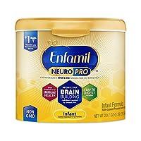 Enfamil 美赞臣铂睿 NeuroPro 婴幼儿配方奶粉,可重复使用的奶粉盒,20.7盎司(约587g)