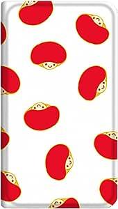 智能手机壳 手册式 对应全部机型 薄型印刷手册 cw-029top 套 手册 蘑菇 超薄 轻量 UV印刷 壳WN-PR005629-MX AQUOS CRYSTAL Y2 403SH 图案F