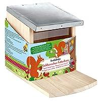 苔藓。 16120 小松鼠爬行甲壳虫喂食站,涂料和设计,适用于儿童木制