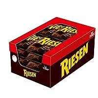 Riesen – (12 x 231g Beutel) – Kräftiges Karamell umhüllt von dunkler Schokolade für eine kleine Pause vom stressigen Alltag