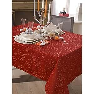 Dove Calitex 织物桌布 150 x 250 厘米 红色