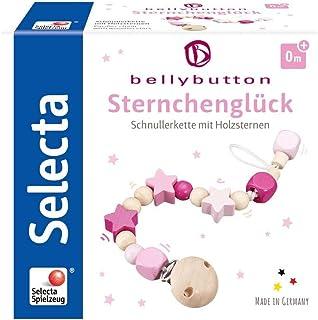 Selecta 64013 小幸运星 奶嘴链 bellybutton 粉色 21 厘米