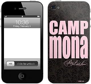 Zing Revolution Pretty Little Liars高级乙烯基粘性皮肤,适用于 iPhone 4/4S,Camp Mona (MS-PLL100133)