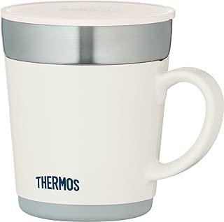 THERMOS 膳魔師 不銹鋼保溫杯 350ml 白 JDC-351WH