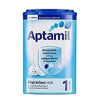 Aptamil 英国爱他美 婴幼儿奶粉 1段 900g(0-6个月) 包邮包税【跨境自营】